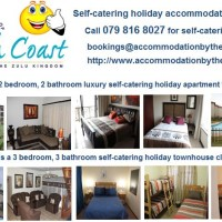 Self-catering and vacation rentals walking distance to the best swimming 0798168027