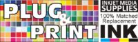 """We stock 100% matched generic ink made in the USA. The """"Plug & Print"""" Ink Matching Technology"""