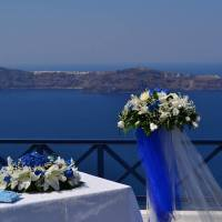 Gold-Weddings Santorini